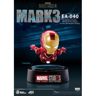 Diorama Iron Man 3 Egg Attack Iron Man Mark III The First Ten Years Edition 16cm