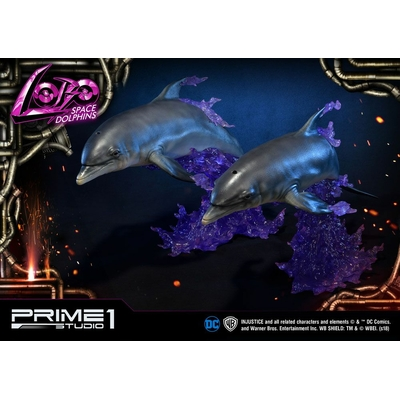 Statuettes Injustice Gods Among Us Space Dolphins 64cm