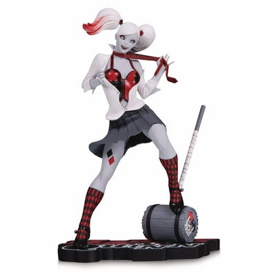 Statuette DC Comics Red, White & Black Harley Quinn by Guillem March 17cm