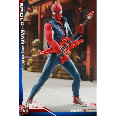 Figurine Marvel's Spider-Man Video Game Masterpiece Spider-Punk 30cm