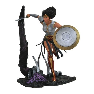 Statuette DC Comic Gallery Dark Knights Metal Wonder Woman 23cm