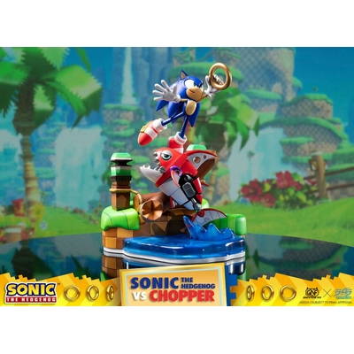 Diorama Sonic Generations Sonic vs Chopper 28cm