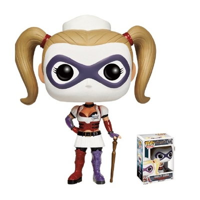 Figurine Batman Arkham Asylum POP! Harley Quinn 10 cm