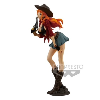 Figurine One Piece Treasure Cruise World Journey Nami 19cm