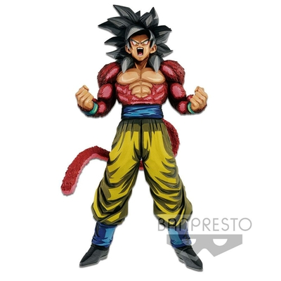 Figurine Dragon Ball GT Master Stars Piece Super Saiyan 4 Son Goku Manga Dimensions 33cm