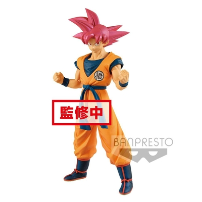 Figurine Dragon Ball Super Cyokuku Buyuden Super Saiyan God Son Goku 22cm