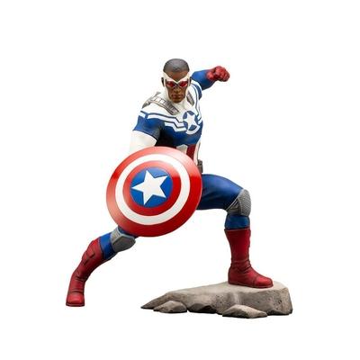 Statuette Marvel Comics ARTFX+ Captain America (Sam Wilson) 19cm