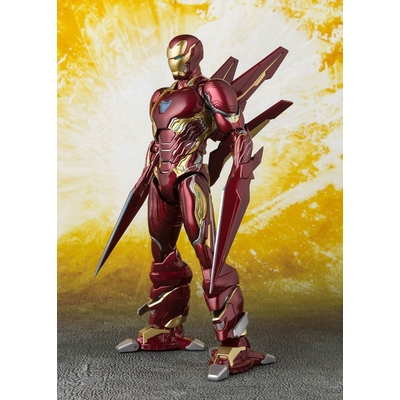 Figurine Avengers Infinity War S.H. Figuarts Iron Man MK50 Nano Weapons 16cm