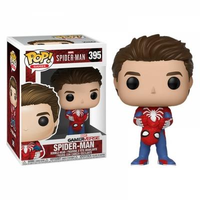 Figurine Spider-Man Funko POP! Unmasked Spider-Man 9cm