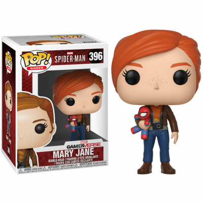Figurine Spider-Man Funko POP! Mary Jane with Plush 9cm
