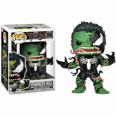 Figurine Venom Funko POP! Marvel Bobble Head Venomized Hulk 9cm