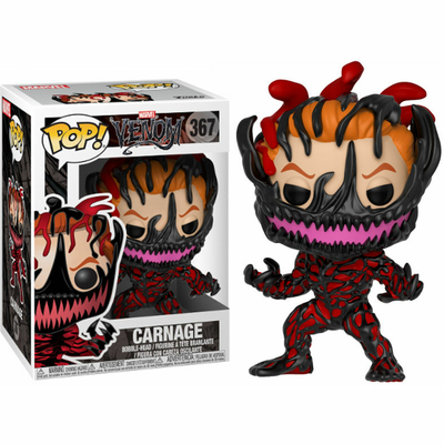 Figurine Venom Funko POP! Marvel Bobble Head Carnage 9cm