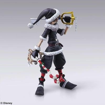 Figurine Kingdom Hearts II Bring Arts Sora Christmas Town Ver. 15cm