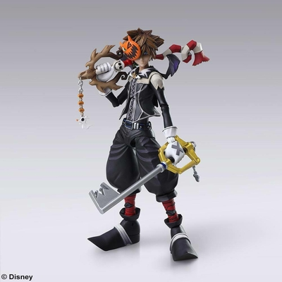 Figurine Kingdom Hearts II Bring Arts Sora Halloween Town Ver. 15cm