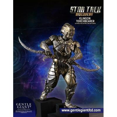 Statuette Star Trek Discovery Collectors Gallery Klingon Torchbearer 23cm