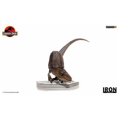 Statuette Jurassic Park Art Scale Crouching Velociraptor 29cm