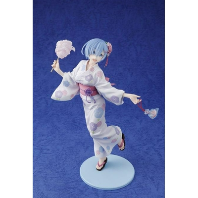 Statuette Re:ZERO Starting Life in Another World Rem Yukata Ver. 23cm