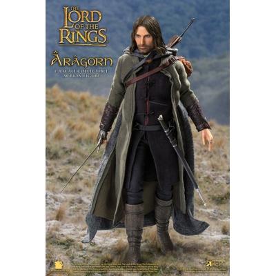 Figurine Le Seigneur des Anneaux Real Master Series Aragon Deluxe Version 23cm