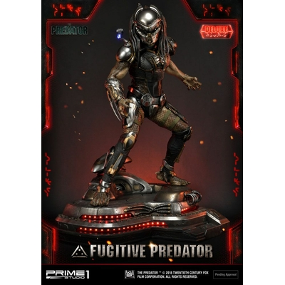 Statue The Predator Fugitive Predator Deluxe Ver. 75cm