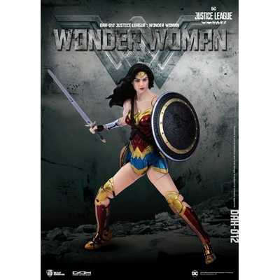 Figurine Justice League Dynamic Action Heroes Wonder Woman 19cm