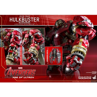 Accessoires pour figurines Avengers L'Ère d'Ultron Accessories Collection Series Hulkbuster
