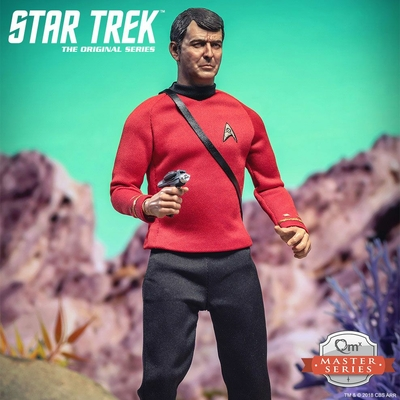 Figurine Star Trek TOS Master Series Lt. Commander Scott 'Scotty' 30cm