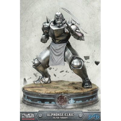 Statue Fullmetal Alchemist Brotherhood Alphonse Elric Silver Variant 55cm