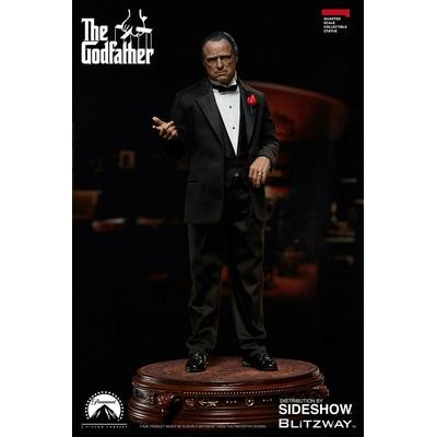 Statue Le Parrain Superb Scale Vito Corleone 46cm