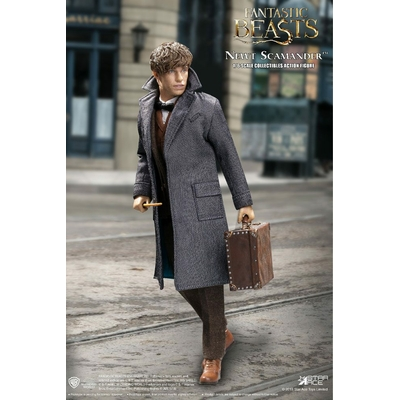 Figurine Les Animaux fantastiques My Favourite Movie Newt Scamander Grey Coat Ver. 30cm