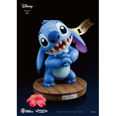 Statuette Disney Miracle Land Stitch 33cm