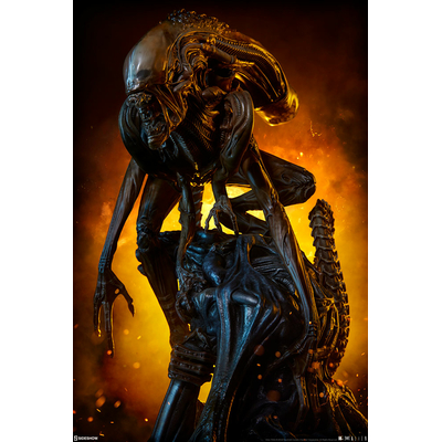 Statuette Alien Warrior Mythos 45cm