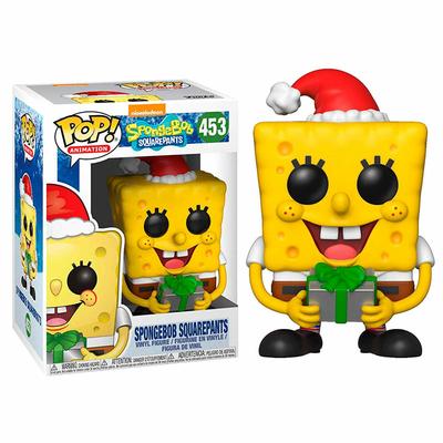 Figurine Bob l´éponge Funko POP! SpongeBob Xmas 9cm