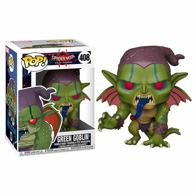 Figurine Spider-Man Animated Funko POP! Marvel Bobble Head Green Goblin 9cm
