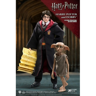 Pack 2 figurines Harry Potter Real Master Series Harry & Dobby 16-23cm
