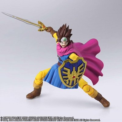Figurine Dragon Quest III The Seeds of Salvation Bring Arts Hero 14cm