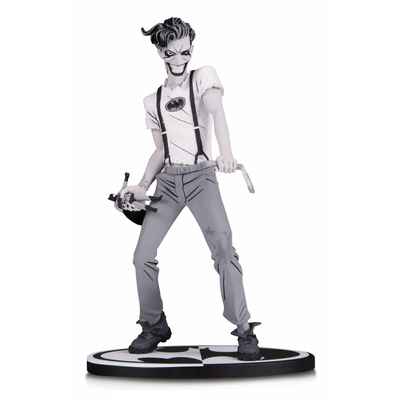 Statuette Batman Black & White The White Knight Joker by Sean Murphy 18cm