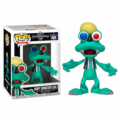 Figurine Kingdom Hearts 3 Funko POP! Disney Goofy Monsters Inc. 9cm