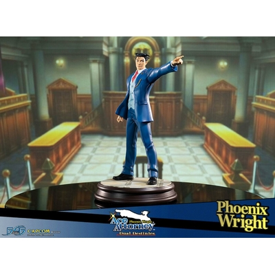 Statuette Phoenix Wright Ace Attorney Dual Destinies Phoenix Wright 34cm