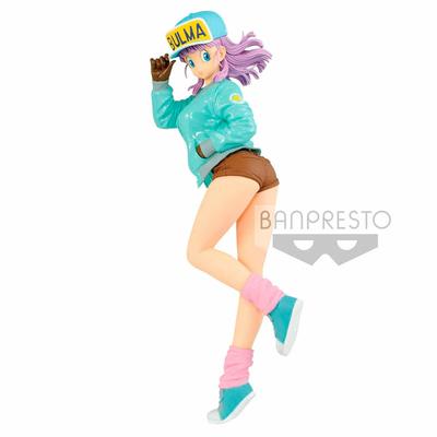 Statuette Dragon Ball Glitter & Glamours Bulma Special Color Ver. 25cm