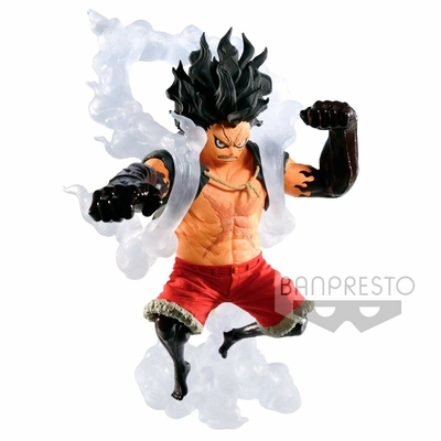 Statuette One Piece King Of Artist Snakeman Luffy 14cm