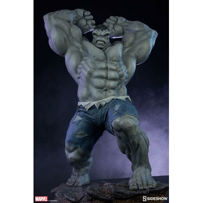 Statue Avengers Assemble Grey Hulk Sideshow Exclusive 61cm