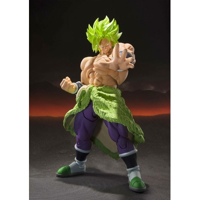 Figurine Dragon Ball Super Broly S.H. Figuarts Super Saiyan Broly Fullpower 22cm