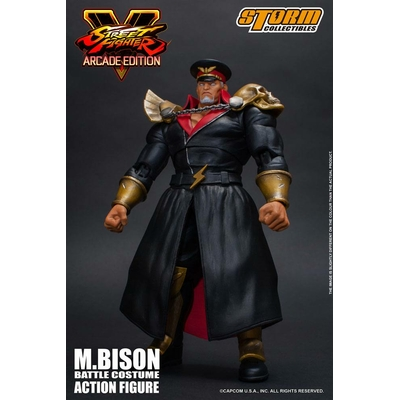 Figurine Street Fighter V Arcade Edition M. Bison Battle Costume 18cm
