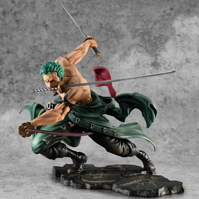 Statuette One Piece Portrait Of Pirates SA-MAXIMUM Roronoa Zoro San Zen Se Kai !!! Ver. 21cm