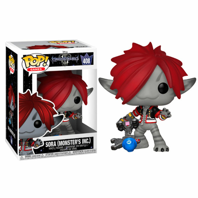 Figurine Kingdom Hearts 3 Funko POP! Disney Sora Monsters Inc. 9cm