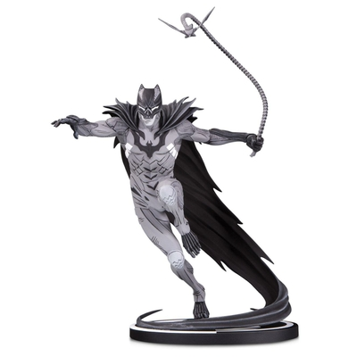 Statuette Batman Black & White Batman by Kenneth Rocafort 22cm