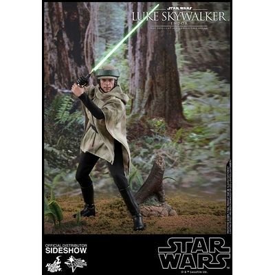Figurine Star Wars Episode VI Movie Masterpiece Luke Skywalker Endor 28cm