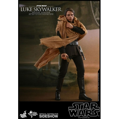 Figurine Star Wars Episode VI Movie Masterpiece Luke Skywalker Endor Deluxe Ver. 28cm