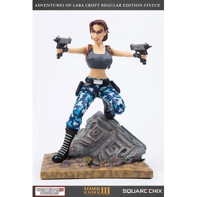 Statuette Tomb Raider III Lara Croft Regular Version 30cm