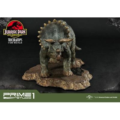 Statuette Jurassic Park Prime Collectibles Triceratops 11cm